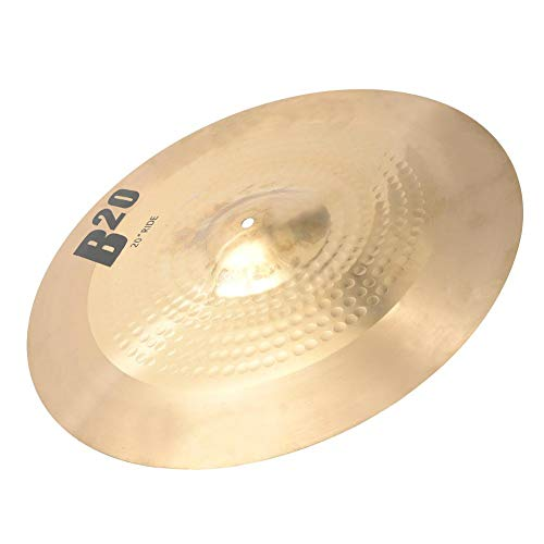VGEBY1 Metal Drum Cymbal, 20in Professional Great Tough Splash Cymbal Musical Instrument Accessories