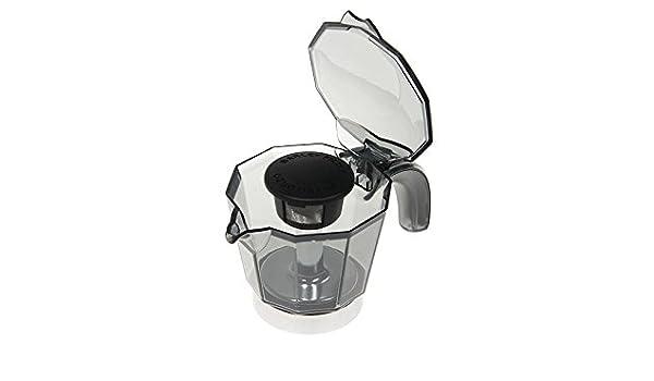 DeLonghi - Set de Jarra de 4 tazas, de recambio para la cafetera ...