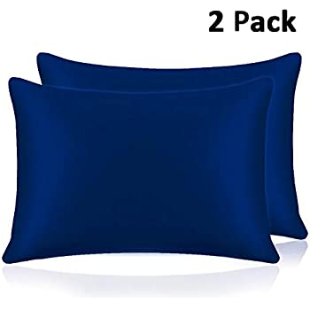 Amazon.com: Skyfitting Soft Silk Satin Pillowcase Hair