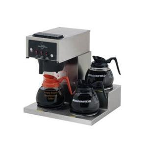 Bloomfield 8571-D3-120C Koffee King 3 Warmer Right Stepped Pourover Coffee Brewe - Koffee King Coffee