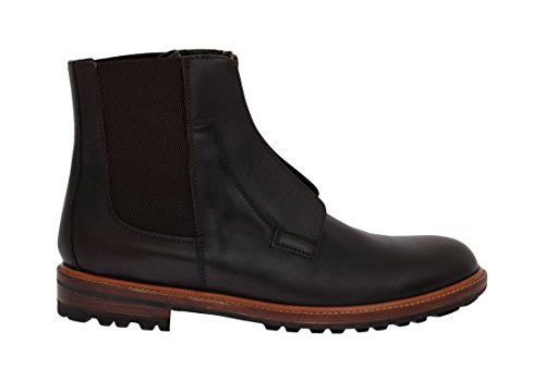 Dolce & Gabbana Brown Leather Ankle Stretch Boots free shipping shop offer for cheap online free shipping cheap quality QvIqNYyC