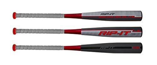 RIP-IT BBCOR POWER ELITE Baseball Bat, 33-Inch/30-Ounce