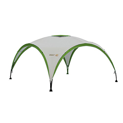 Coleman Water Resistant Event  Outdoor  Shelter available in White/Green - 3 x 3 m