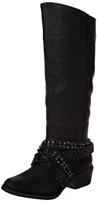 Not Rated Women's Alicia Boot,Black,6 M US