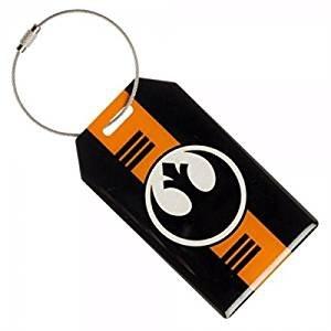 Star Wars Rogue One Rebel Alliance Logo Aluminum Luggage Tag (Star Wars Rebel Bag)