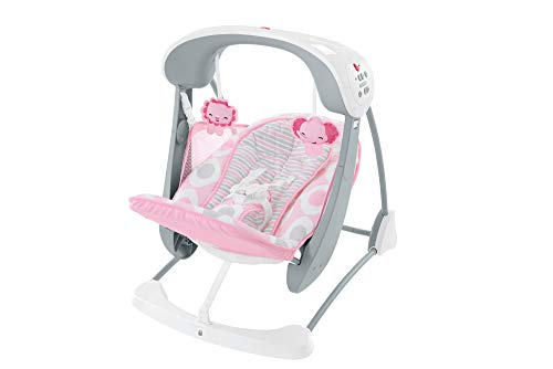 Fisher-Price Deluxe Take-Along Swing & Seat [Amazon Exclusive] (Fisher Price Infant To Toddler Rocker Reviews)