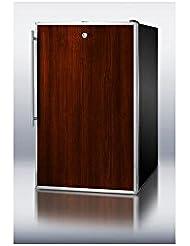 Summit CM421BLBIFRADA Refrigerator, Brown