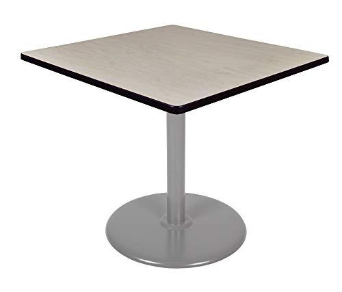 (Regency TVP4242PLGY Via Square Platter Base Table 42