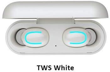 Auricular Bluetooth Hbq De Movimiento Estéreo Inalámbrico De Dos Orejas 2c De Potencia Móvil TWS Blanco 5.0