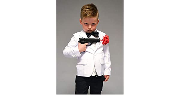 Disfraz de espía Estilo James Bond para niños EU110-116 (5-6years ...