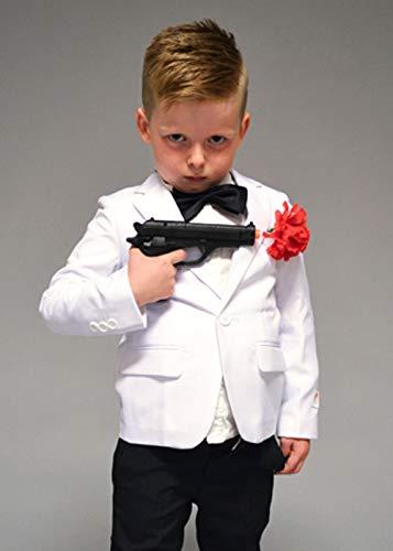 Disfraz de espía Estilo James Bond para niños EU110-116 (5 ...