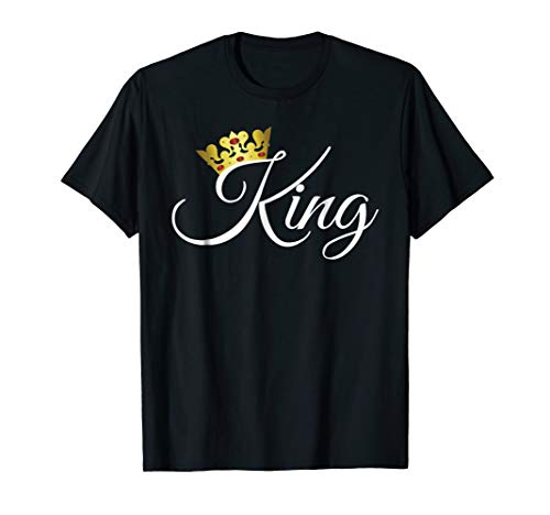 King and Queen Shirts Matching Couple Outfits