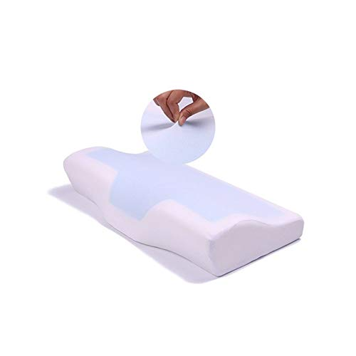 Memory Foam Pillow Summer Memory Foam Cool Gel Pillow Summer Ice-Cool Anti-Snore Neck Orthopedic Sleep Pillow Cushion For Home Beddings★