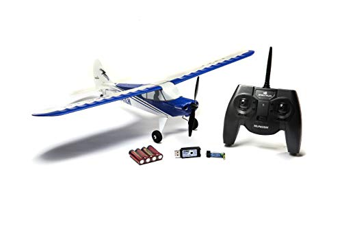 HobbyZone Sport Cub S 2 RC Airplane RTF with SAFE (Includes 6-CH 2.4GHz Transmitter | 150mAh 3.7V Lipo Battery | USB Charger), HBZ44000