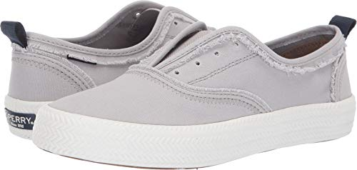 Sperry Top-Sider Crest Knot Sneaker Women 8.5 Light Grey