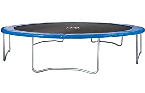Amazon Com Pure Fun 15 Foot Trampoline Sports Amp Outdoors