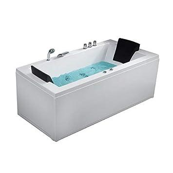 Beleuchtung Badewanne   Whirlpool Eck Badewanne Nizza Rechts Oder Links Mit 6 Massage Dusen