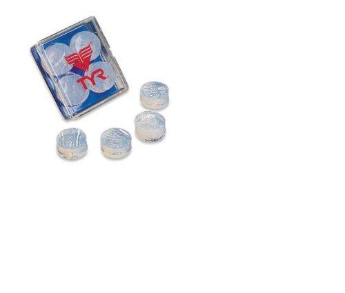 Tyr Ear Plugs (TYR Soft Silicone Ear Plugs, Clear)
