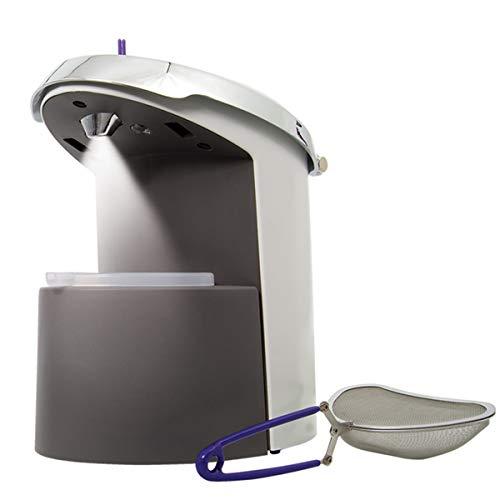 GemOro 0384 Brilliant Spa Pro Professional Steam Cleaner, 1 Pint Tank, White