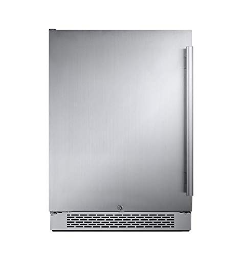 Avallon AFR241SSLH 5.5 Cu Ft 24″ Built-in Refrigerator – Left Hinge