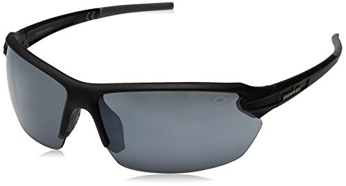 Ironman Men's Rush Wrap Sunglasses, Black, 72 - Sun Ironman Glasses