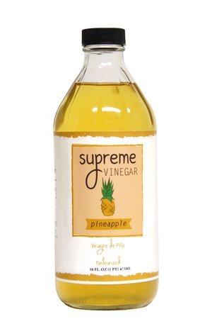 Supreme Pineapple Vinegar (Vinagre de Piña) - 16 Oz.