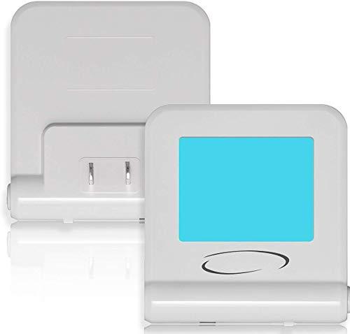 Plug in LED Night Light 8 Colors - 2 Pack - Modern Soft Mult
