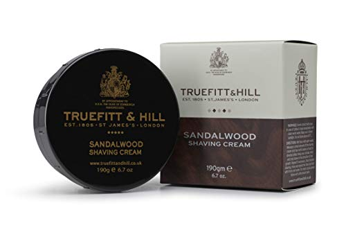 Truefitt & Hill Shaving Cream Bowl- Sandalwood (6.7 ounces)