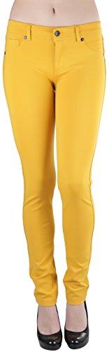 yellow skinny pants - 3