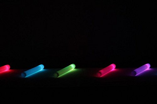 Personalized 16'' Custom Multicolor LED Foam Sticks, Customize the LED Glow Sticks with your own text or logo for a memorable celebration, 100 Pcs, Six Mode Lighting by Promotional Party Sticks (Image #5)
