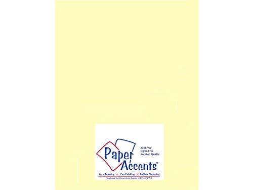 Accent Design Paper Accents Vellum8511LightYellow VellumLightYellow [並行輸入品] B07TBRZKS8