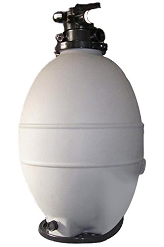 Rx Clear Patriot Sand Filter | Compatible with Intex/Pop Up Above Ground Pools | 24 Inch | 250 Lb Sand Capacity | for Above Ground Swimming Pools Up to 33,000 Gallons