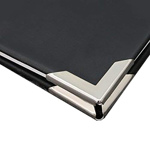 24 Nickel Plated Book Scrapbooking Albums Menus Corner Protectors Gold Silver 30x30x4mm (Gold Nickel Plated) picturehangingdirect.co.uk