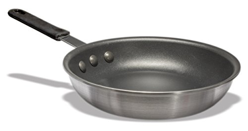 Crestware Commercial Grade, FRY14XH, 14.5625 inch Inch Teflon Platinum Pro Fry Pan with Molded Handle withstand Heat up to 450F (Package of 1)