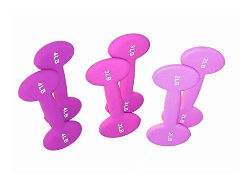 Slimbells Two-in-One Dumbbells 18lb Set. Strength Training, Yoga, Cardio, Pilates.