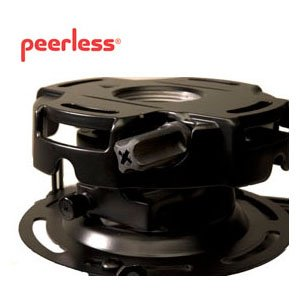 (Peerless-AV PRGS-UNV | Precision Projector Mount with Spider Universal Plate Black)