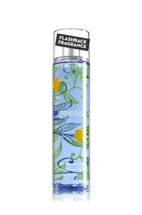 Bath and Body Works Fine Fragrance Mist Freesia Newer Blue Packaging 8 Ounce Full Size Spray from Bath & Body Works