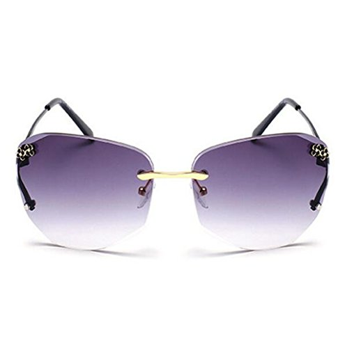 My.Monkey Womens Fashion Polarized Gradient Lens Small Frame Warfarer - Poker Glasses Reviews