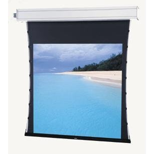 Tensioned Advantage Electrol Electric Screen - Tensioned Advantage Deluxe Grey Electrol Electric Projection Screen Viewing Area: 50