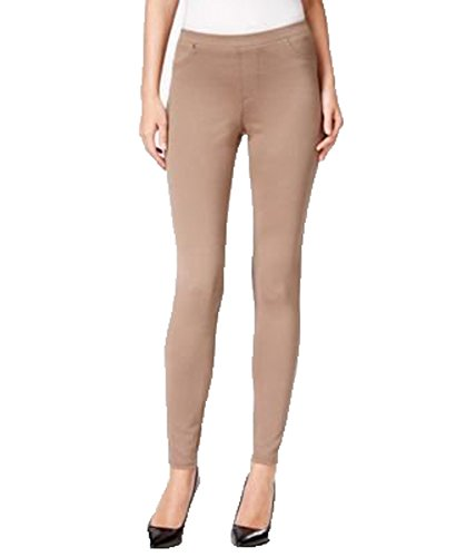 Style & Co. Womens Plus Corduroy Comfort Waist Corduroy Pants Brown ()