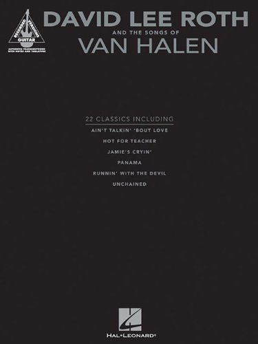 (David Lee Roth and the Songs of Van Halen (Guitar Recorded Versions) )