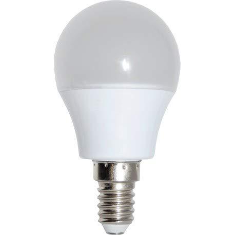 Alverlamp LSS041430 - Lámpara led smd esférica regulable 4w e14 3000k: Amazon.es: Bricolaje y herramientas
