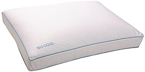 Amazon.com: Iso Cool Memory Foam Pillow, Gusseted Side Sleeper