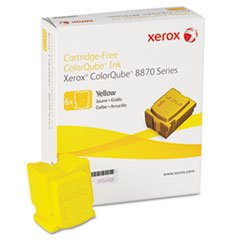 -- 108R00952 Solid Ink Stick, 17,300 Page-Yield, Yellow, 6/Box -  1.030, Laser Toner