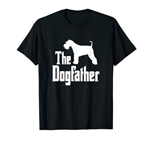 The Dogfather T-Shirt, Miniature Schnauzer Dog, funny dog