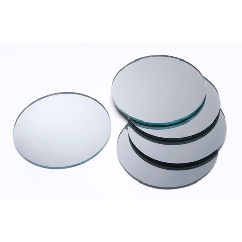 Crafts Mirror Round 3 inches (6-Pack) 1613-58 (Darice Big Value Mirrors)
