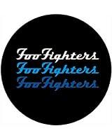 Foo Fighters - Triple Logo -- Button