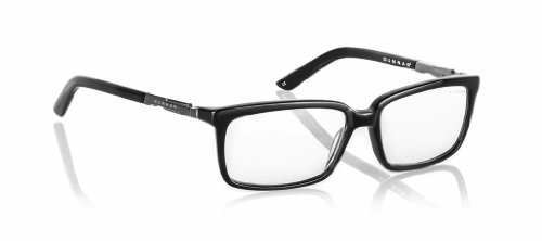 GUNNAR Gaming and Computer Eyewear/Haus, Clear Tint - Patented Lens, Reduce Digital Eye Strain, Block 10% of Harmful Blue Light ()