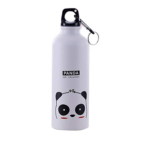 ThinIce 500mL Cartoon Aluminum Alloy Vacuum Insulated Water Bottle, Narrow Mouth