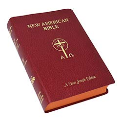 US Gifts St Joseph New American Bible - Giant Type